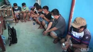 Công an Tiền Giang bắt nhóm đối tượng đá gà ăn thua bằng tiền qua mạng