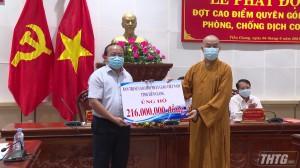 Tiền Giang phát động quyên góp ủng hộ phòng chống dịch Covid -19
