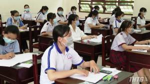Tiền Giang công bố điểm thi tuyển sinh vào lớp 10, năm học 2021-2022