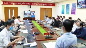 Bộ Y tế họp trực tuyến với 4 tỉnh Tiền Giang, An Giang, Bến Tre và Sóc Trăng về công tác phòng chống dịch Covid-19