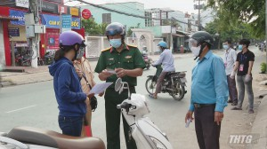 Tiền Giang quy định những trường hợp được phép ra đường từ 18 giờ đến 6 giờ hàng ngày