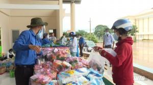 Sở Công thương mở gian hàng 0 đồng tại huyện Gò Công Đông