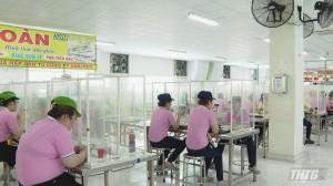 """Tiền Giang đã có 68 doanh nghiệp thực hiện phương án """"3 tại chỗ"""""""