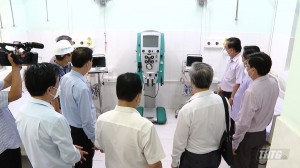 Tiền Giang vận hành Trung tâm hồi sức (ICU) bệnh nhân Covid-19, quy mô 90 giường