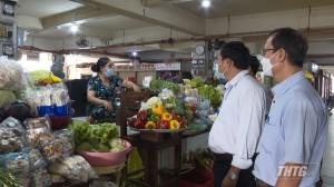 Sở Công thương Tiền Giang kiểm tra thị trường hàng hóa thiết yếu