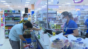 Các siêu thị, cửa hàng thiết yếu và nhà sách của Tp. Mỹ Tho được hoạt động trở lại