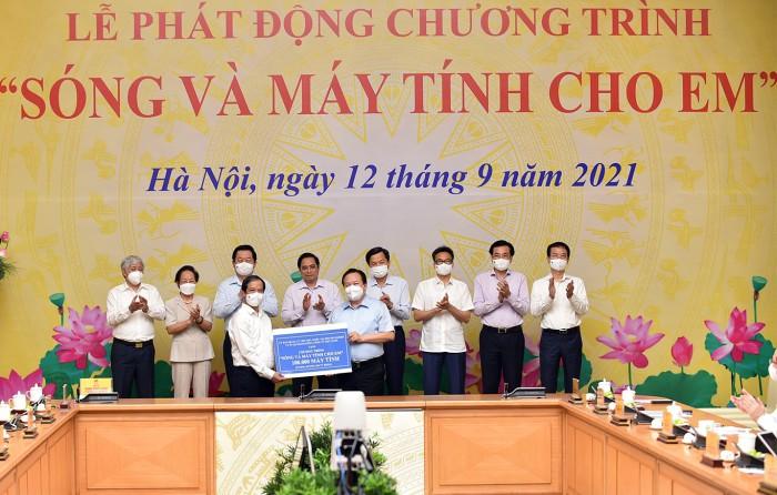 Tap doan, Tong Cty nha nuoc tang 100 nghin may tinh