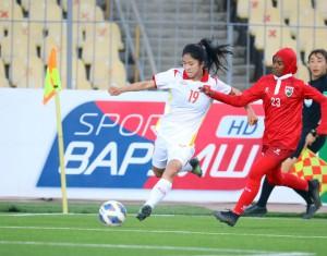 Tuyển nữ Việt Nam đè bẹp Maldives với tỉ số… 16-0