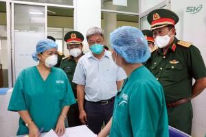 Thứ trưởng Bộ Y tế: Tiền Giang cần tập trung 6 nhóm vấn đề để kiểm soát dịch COVID-19