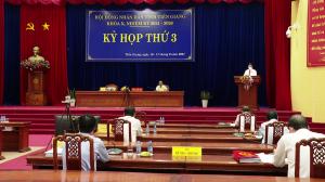 Khai mạc kỳ họp thứ 3 HĐND tỉnh Tiền Giang Khóa X