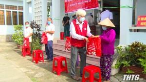 """Hội Chữ thập đỏ tỉnh Tiền Giang tổ chức chương trình """"Kết nối cộng đồng, vượt qua thử thách"""""""