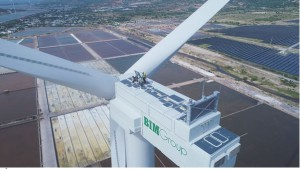 Quốc tế đưa tin về Tổ hợp kinh tế muối và năng lượng tái tạo lớn nhất Việt Nam