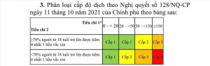 Bộ Y tế hướng dẫn các tiêu chí đánh giá cấp độ dịch COVID-19