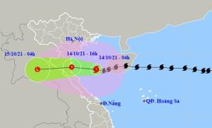 Bão số 8 suy yếu thành áp thấp nhiệt đới, cách Hà Tĩnh khoảng 200km