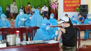 Tiền Giang đã tiêm chủng được hơn 849.600 liều vắc xin