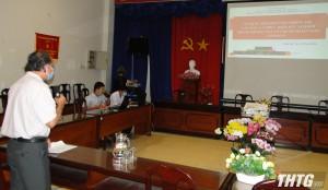 CDC Tiền Giang tập huấn lấy mẫu test SARS-CoV- 2 cho doanh nghiệp