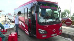 Hoạt động vận tải liên tỉnh và nội tỉnh Tiền Giang trở lại bình thường từ ngày 20-10