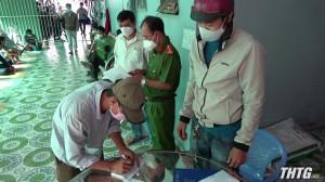 Triệt phá tụ điểm đá gà tại huyện Chợ Gạo, thu giữ hơn 60 triệu đồng