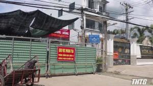 Phát sinh ổ dịch phức tạp với 20 ca F0 tại xã Thạnh Phú, huyện Châu Thành