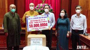 Tiền Giang tiếp nhận thiết bị và vật tư y tế phòng, chống dịch Covid-19