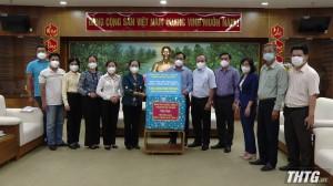 Đoàn công tác TP Hồ Chí Minh làm việc với tỉnh Tiền Giang