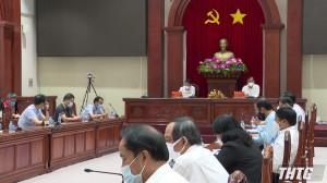 UBND tỉnh Tiền Giang gặp gỡ các doanh nghiệp FDI, tháo gỡ khó khăn và phục hồi sản xuất sau Covid-19